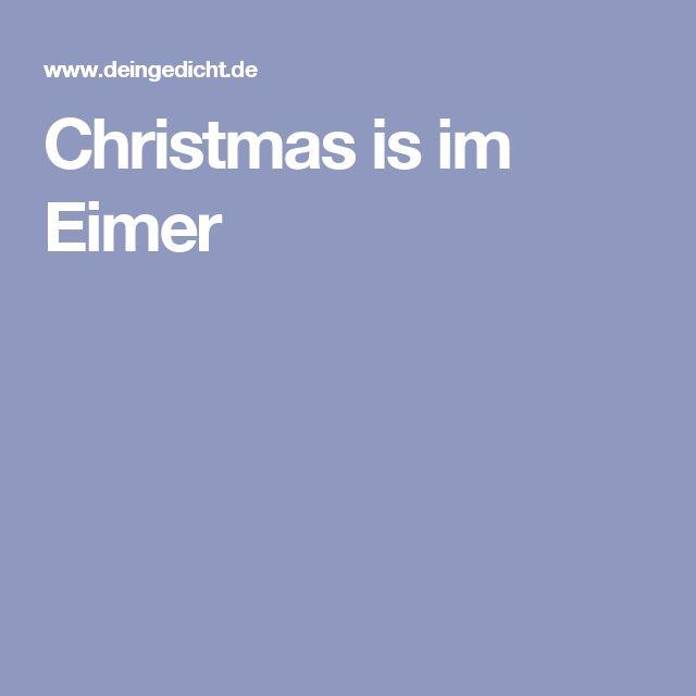 christmas is im eimer weihnachtsgeschichte. Black Bedroom Furniture Sets. Home Design Ideas