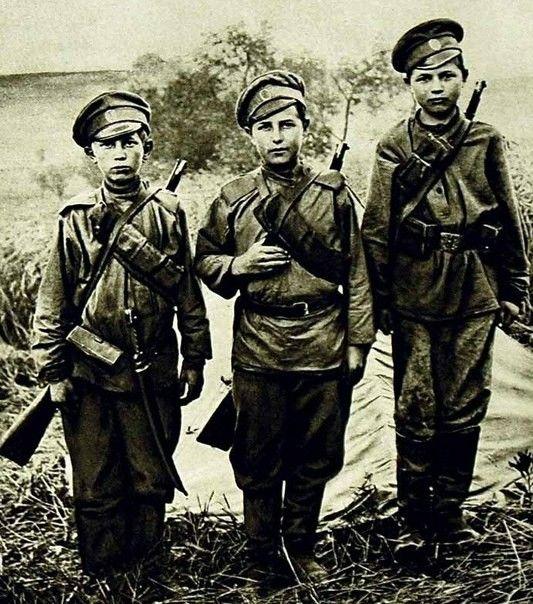 Три бойца... Первая мировая война.