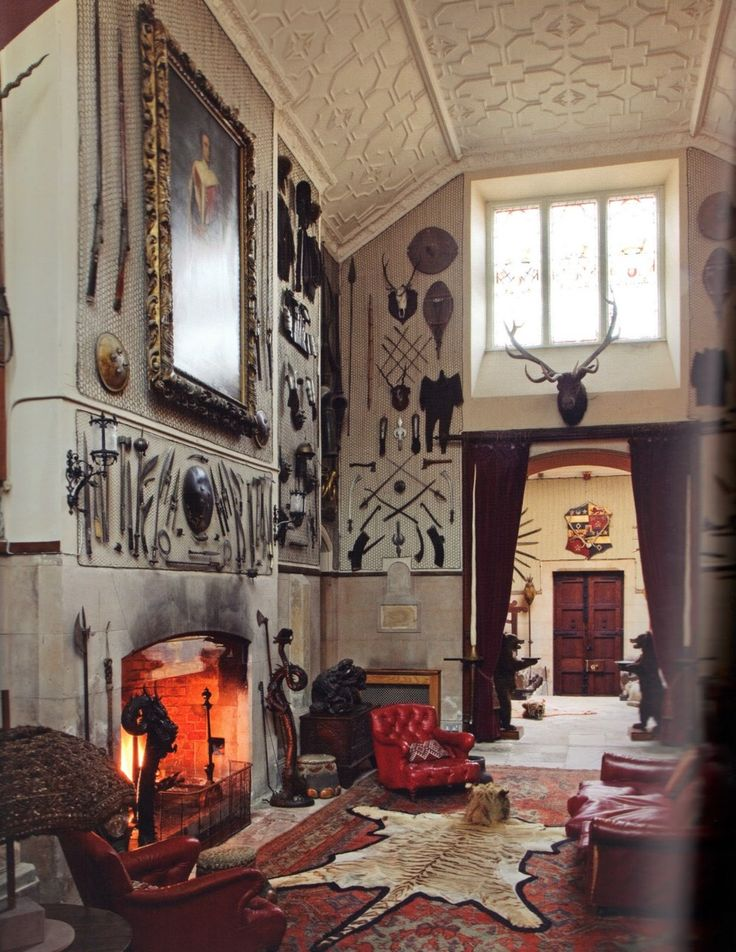 Scotland Castle Style Country Homes And Manor Decor 2 Pinterest Caves High Ceilings