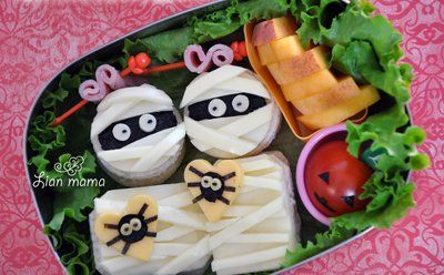 Page 10 - 20 Halloween Lunch Ideas for Kids I Bento Box Healthy Lunches for Kids - ParentMap