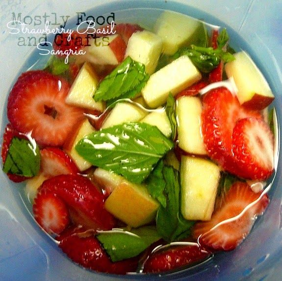Celebrate the 4th of July with CK Mondavi Wines and Strawberry Basil Sangria #CKMondaviHeroes #CleverGirls