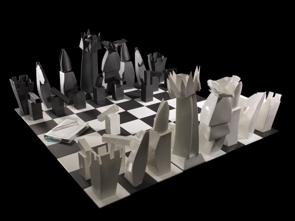 Tiffany and Co. x Frank Gehry Chess Set