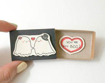 Cute Halloween Card/ Do Not Open Card/ Ghost Card/ by 3XUdesign