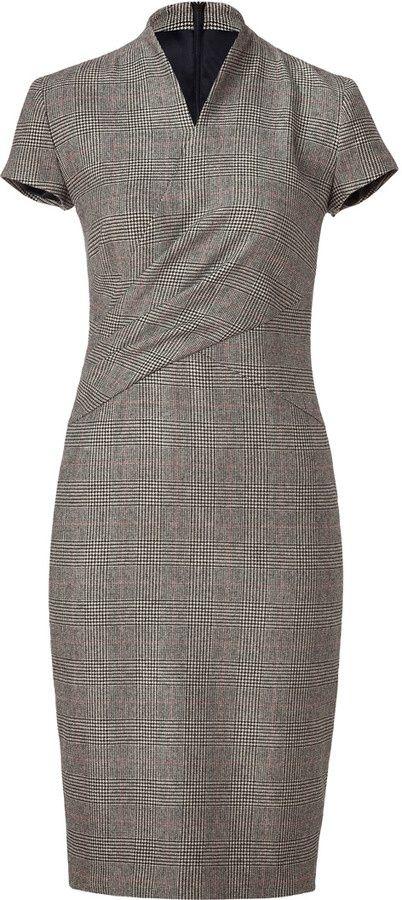olivia pope plaid dress flashback   Lauren Ralph Lauren Glen Plaid Wool Dress - Olivia Pope, Scandal ...