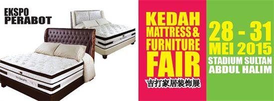 28-31 May 2015: Kedah Mattress & Furniture Fair
