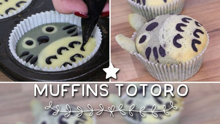 Muffins Totoro - Totoro Cake