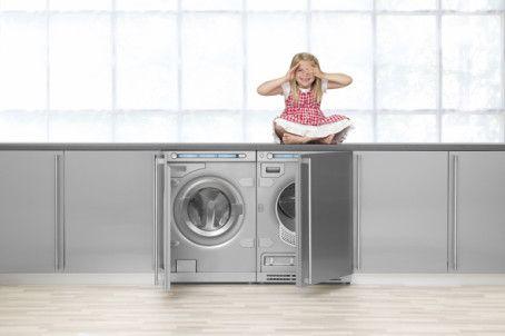 Vaskemaskin og tørketrommel i perfekt forkledning