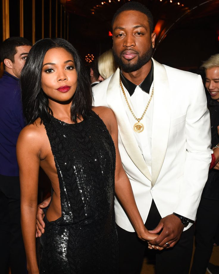 Gabrielle Union and Dwyane Wade MET GALA 2015