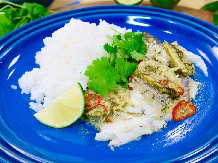 Vietnamesisk fisk med kokos och citrongräs | Recept från Köket.se