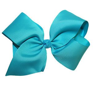 French Clip Hair Bows - Great for All Ages of Girls to Women ... Large GrosGrain Boutique Hair Bow on French Clip Metal Barrette $3.99 Plus FREE Shipping on Every Order Over $30 #WebbDirect2u #TheBowRoom #HairBows