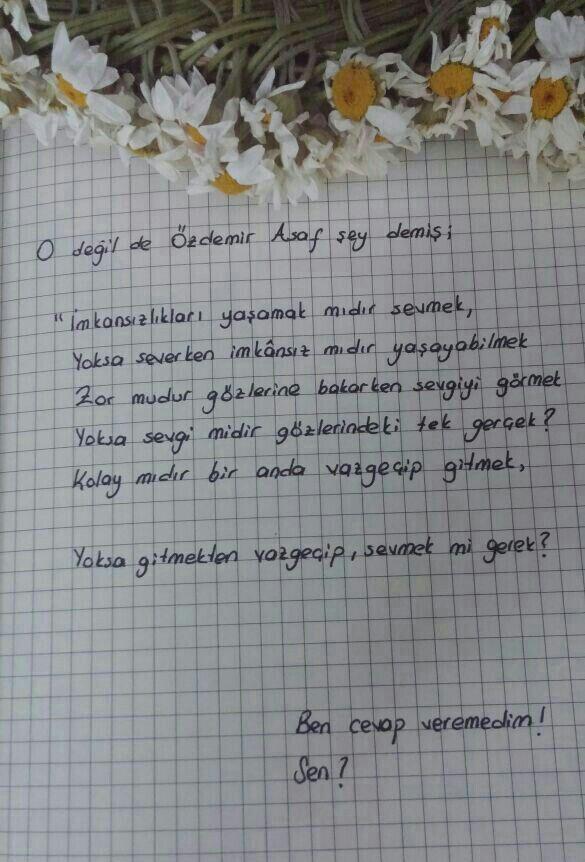 #Özdemir #Asaf #şiir