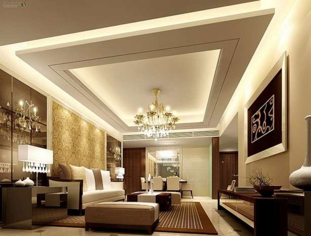 7 Awesome False Ceiling Design For Drawing Room Collection