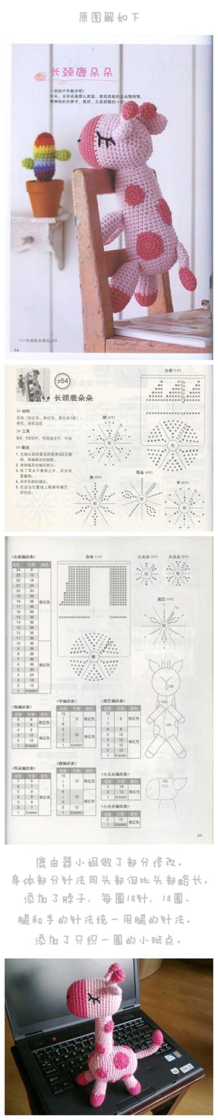 Cute Kawaii Amigurumi Patterns : 17 Best images about ~ CROCHET Japanese ~ on Pinterest ...