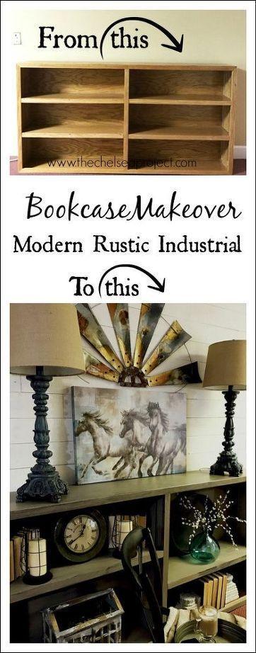 80 s rovere libreria rifacimento di industriali, progetti di lavorazione del legno rustico