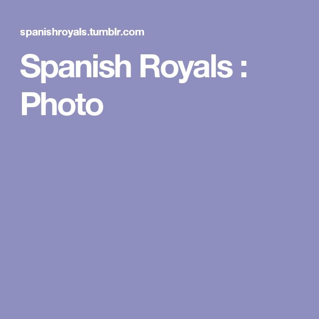 Spanish Royals : Photo