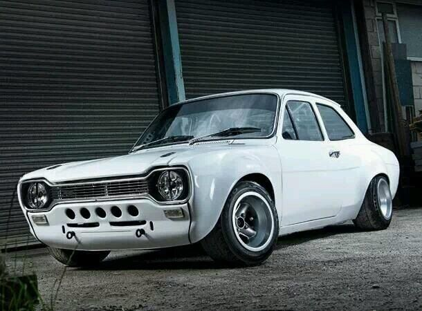 Mk1 Escort  Now, I should have done this to my one!