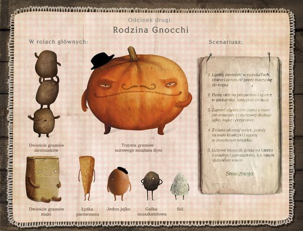 LOVE the style/character design and personality to this children's cookbook by Emilia Dziubak, via Behance