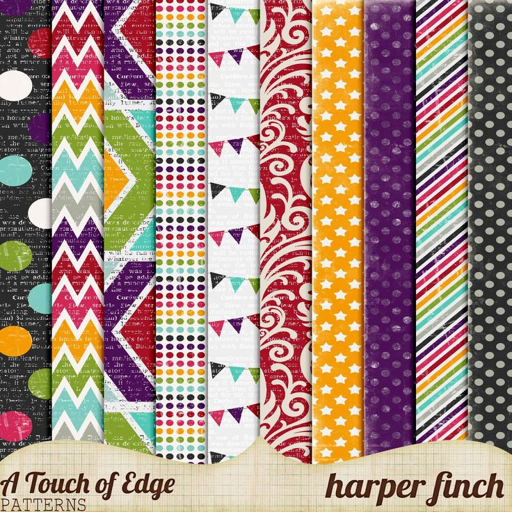 Free A Touch of Edge Papers from Harper Finch