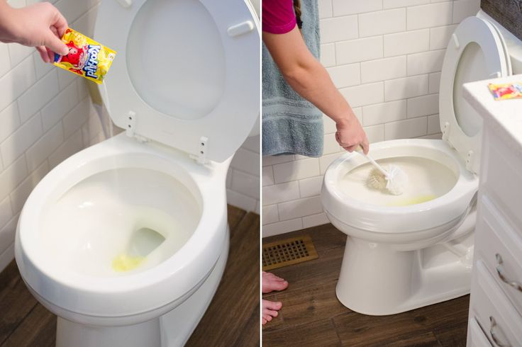 23 Best Home Cleaning Hacks of All Time - Use lemon koolaid powder to clean toilets