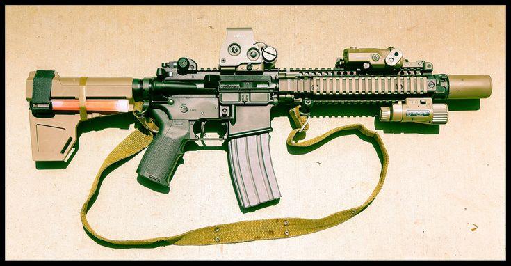 For Sale: Daniel Defense MK18 Mod 1 Pistol WITH accessories. - Calguns.net