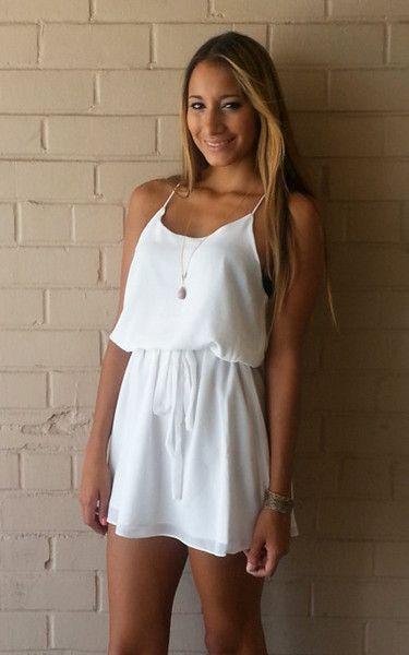 Summer Breeze Dress - Off White