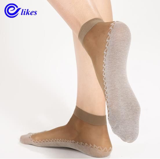 Cheap socks ladies, Buy Quality short socks directly from China ladies socks Suppliers: 4pairs women's Velvet Spun Silk Yarn Cotton-Sole thickening wear-resistant moisture wicking slip-resistant short socks lady sox