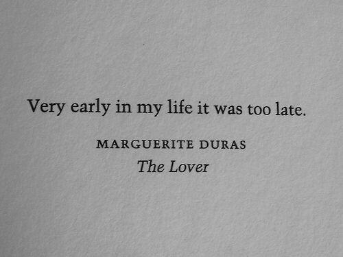 Marguerite Duras- The Lover