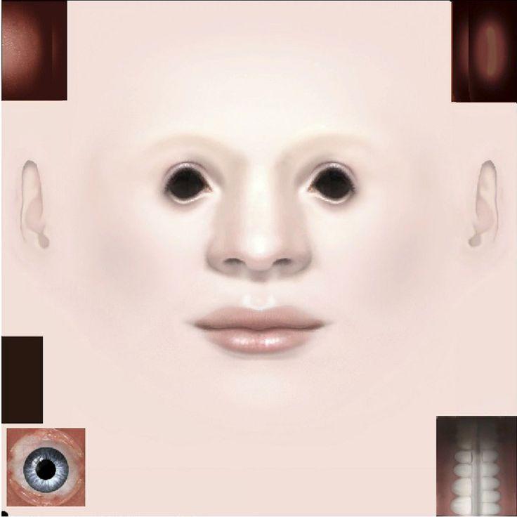 face sims 3