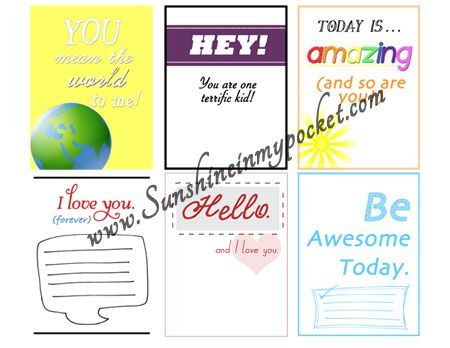 Dose of Sunshine Monday: Positive Affirmations for Kids