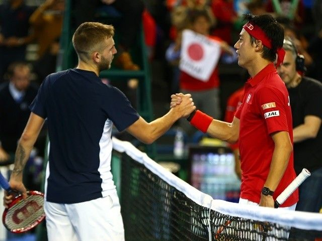 Result: Dan Evans bows out to Kei Nishikori in Indian Wells