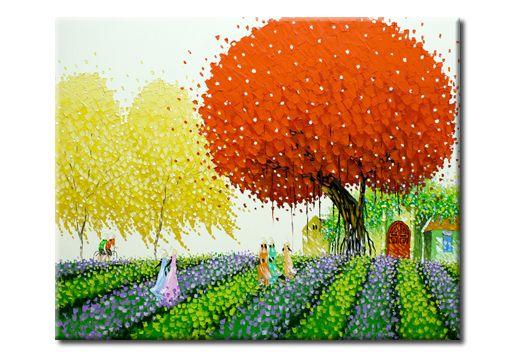 Декоративная картина «Запах лаванды» купить в интернет магазине Принт-Постер, цена производителя!