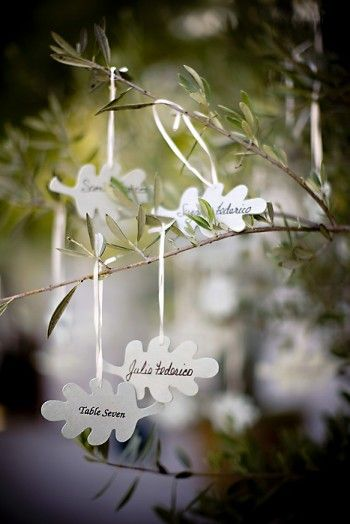 escort-cards-hanging-from-tree - like it!!!