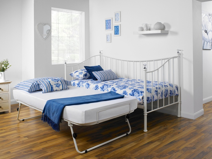 Best Iris Pull Out Trundle Bed Frame Emilia S Room 400 x 300