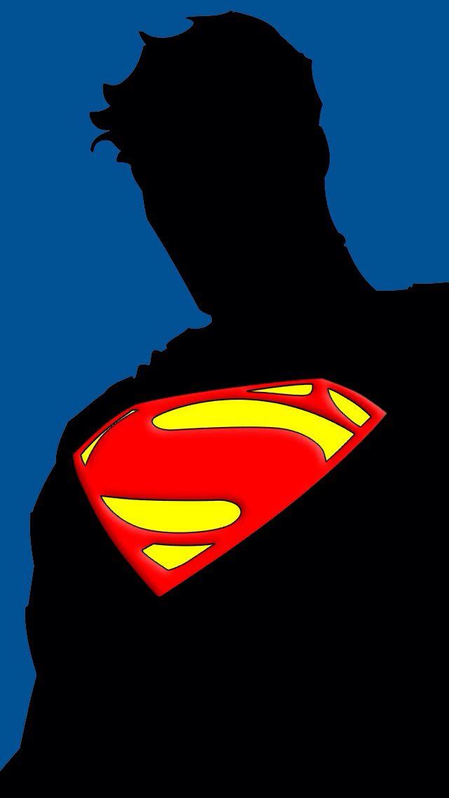Superman;  iPhone Wallpaper.