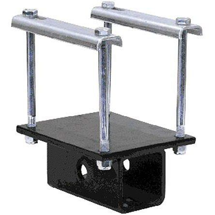 """RV Bumper Bike Rack Carrier Receiver Adapter for 4"""" or 4-1/2"""" square RV bumpers"""