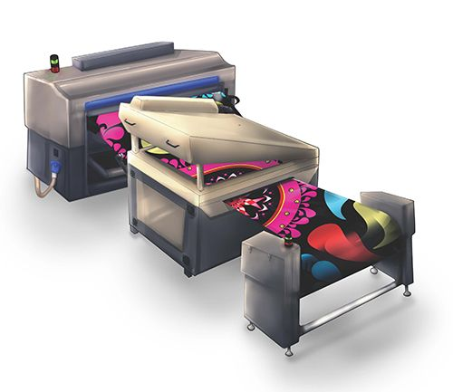 Bordeaux Digital Printink - inks for mimaki