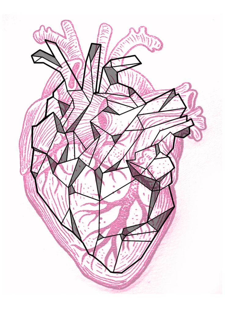 134 besten heart bilder auf pinterest painting aquarell. Black Bedroom Furniture Sets. Home Design Ideas