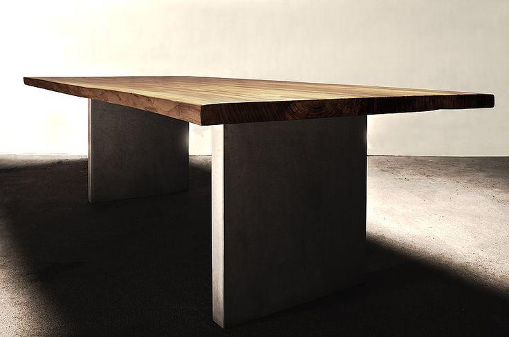 holztisch massiv modern neuesten design. Black Bedroom Furniture Sets. Home Design Ideas