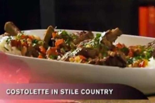Ricetta Costolette in stile country