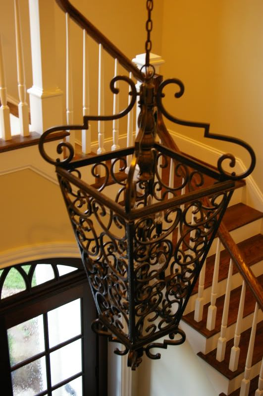 Please show me your two story foyer lights