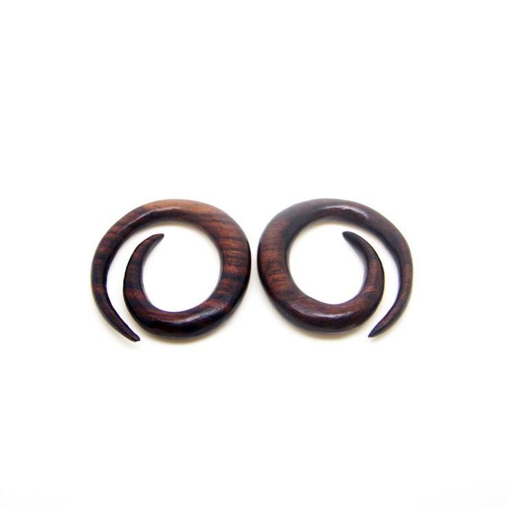 0g Spiral Egg Ear Expander BA124-08