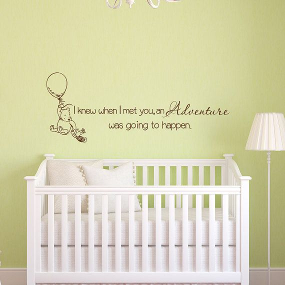 Wall Decals Quotes Winnie The Pooh Decal Quote Tigger Nursery Baby Boys S Room