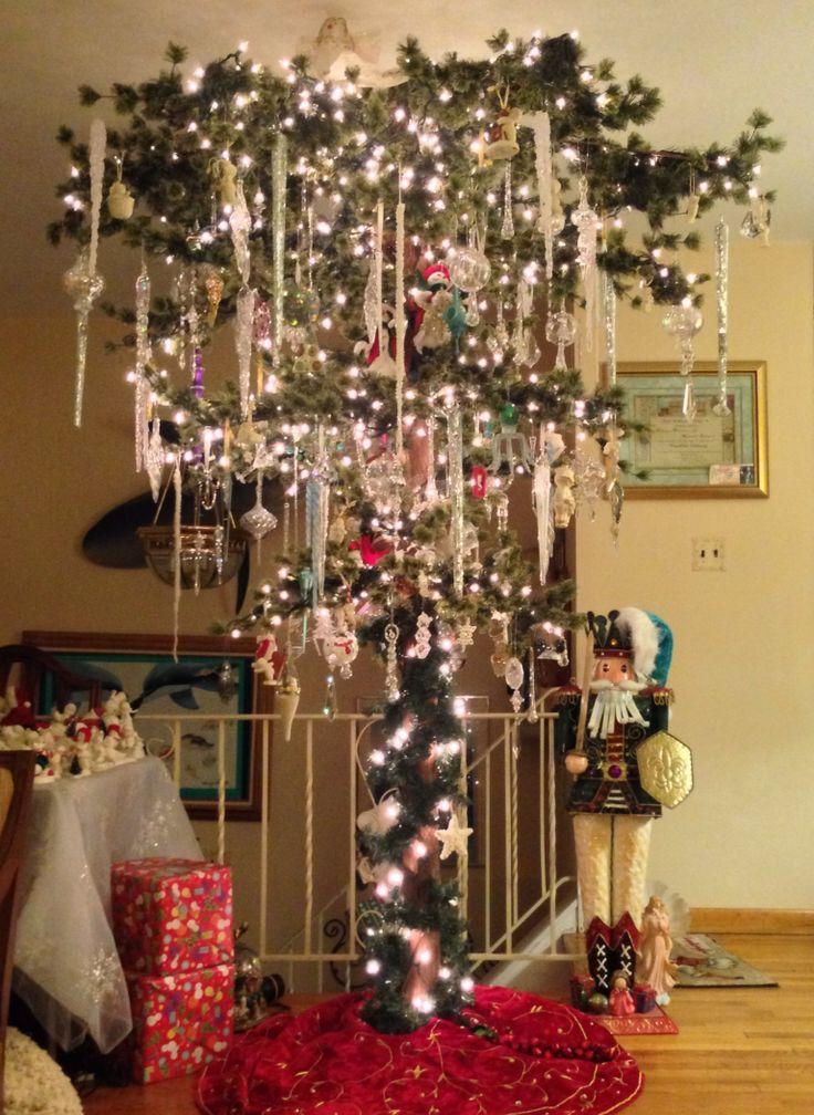 Our Upside Down Christmas Tree Upside Down Christmas
