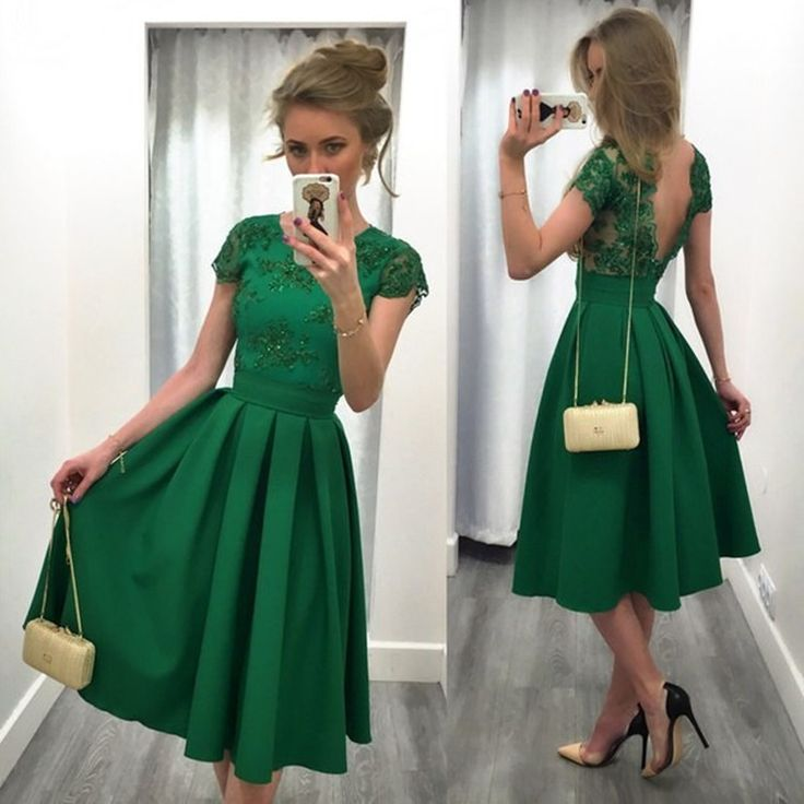 Jade vs emerald color dress