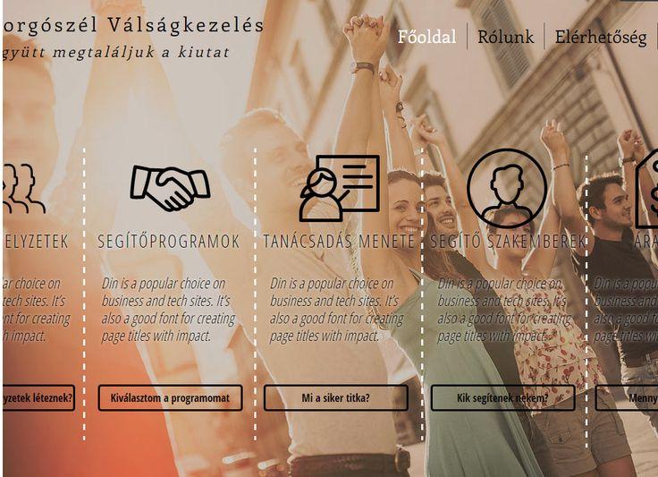 Forgószél honlap terv | Kreatív Webdesign Tanfolyam