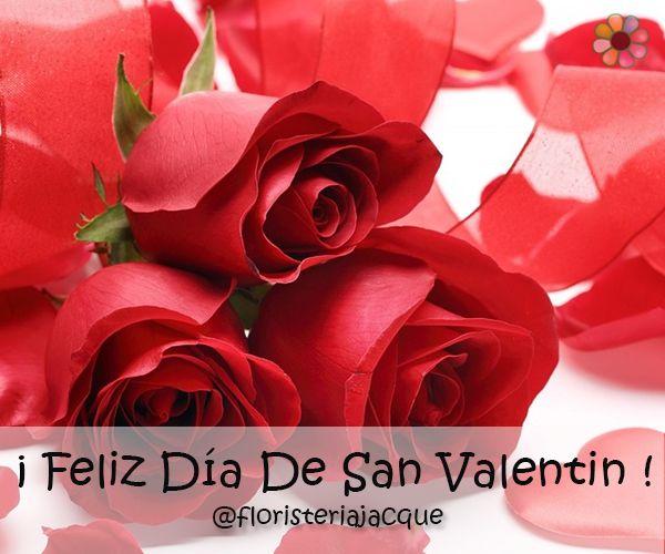 ¡Feliz #sanvalentin para todos los enamorados! Recuerda conquistarla con #floresjacque  Pedidos 448 66 66 - 300 874 23 58