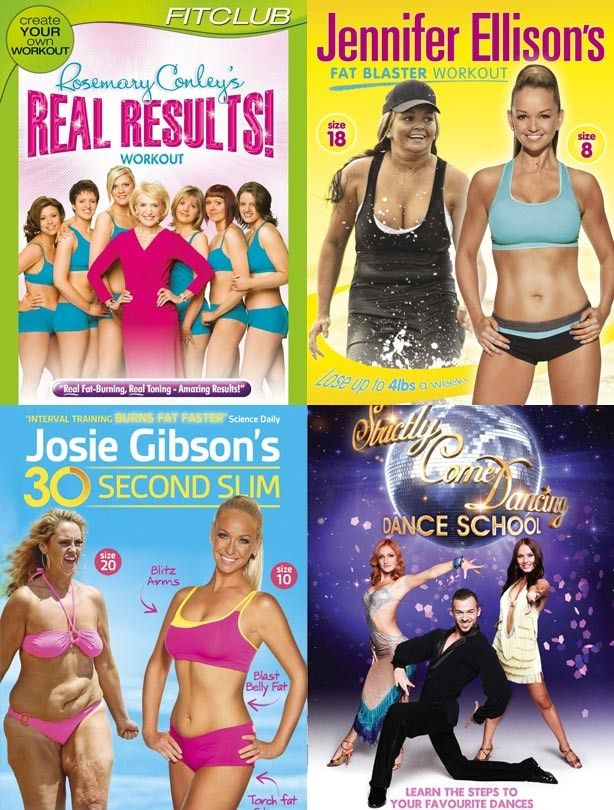 Best Fitness DVDs - goodtoknow