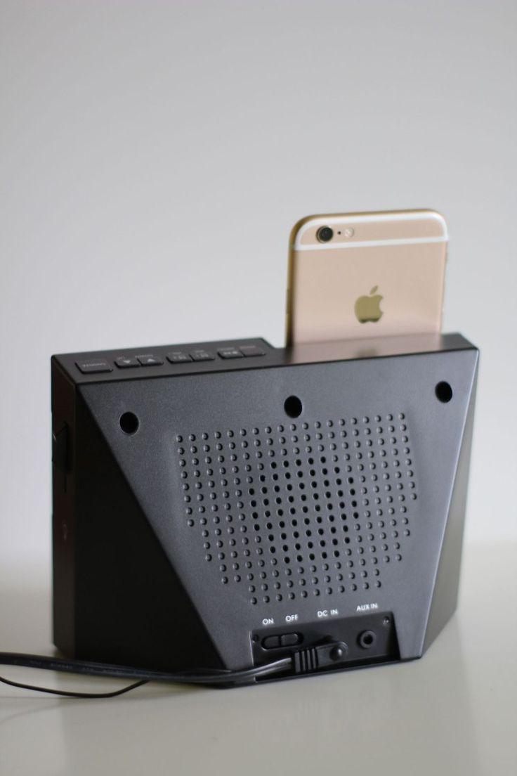 Réveil KitSound X-Dock 3 conçu pour iPhone