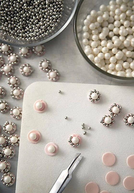 How to make edible jewels for Wedding Cakes or Princess Cakes.