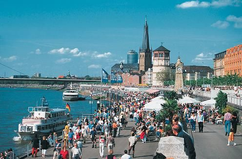 Dusseldorf, Germany. I have been there.